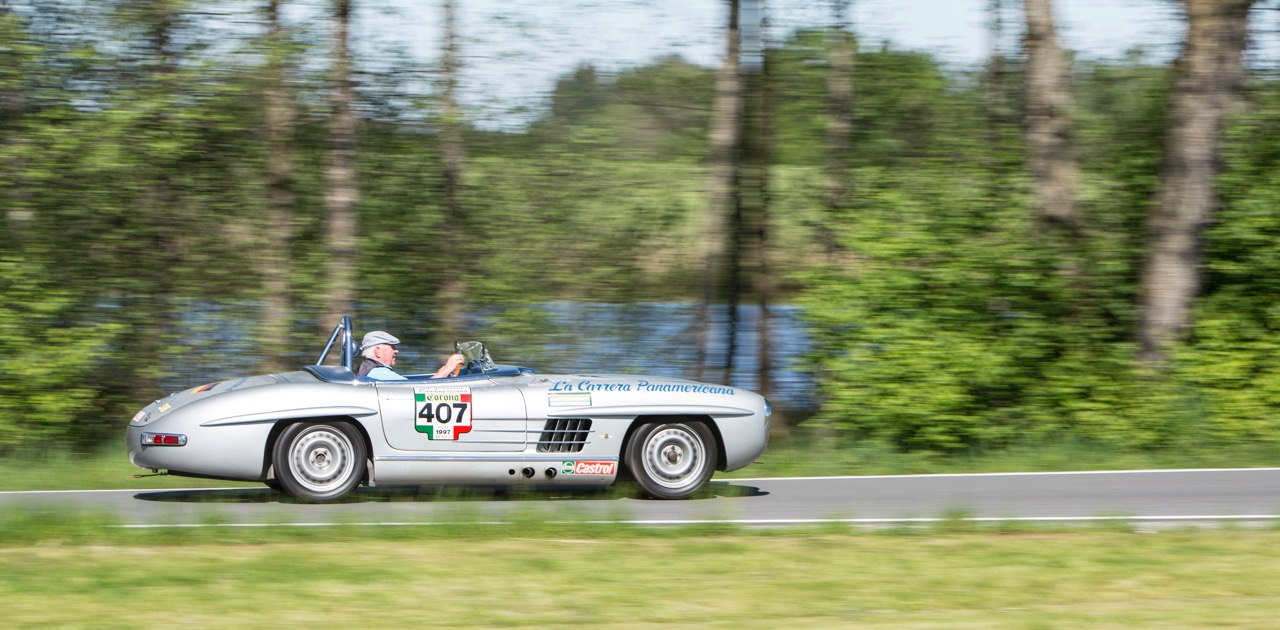 Paul O'Shea's 1957 Mercedes-Benz 300 SLS re-created and regularly raced in vintage competition | Bonhams photos
