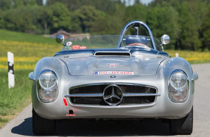 Paul O'Shea tribute Mercedes SLS joins Bonhams' Chantilly sale