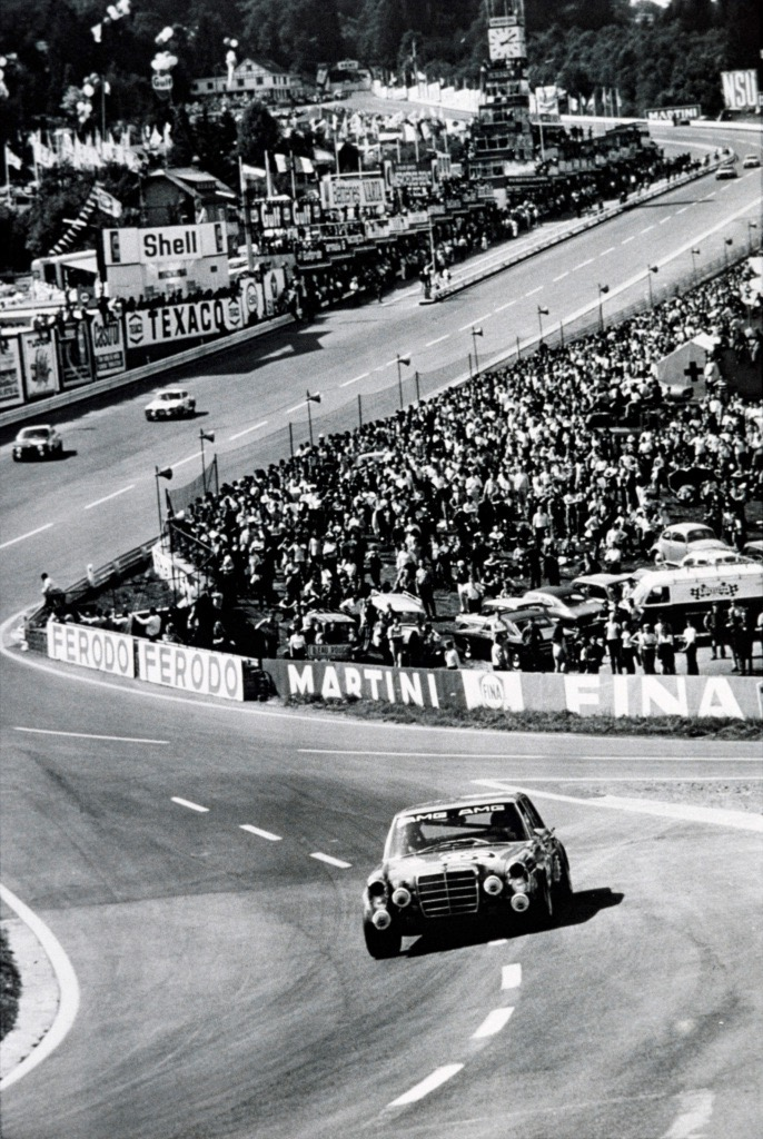AMG entry headed toward its first victory at Spa