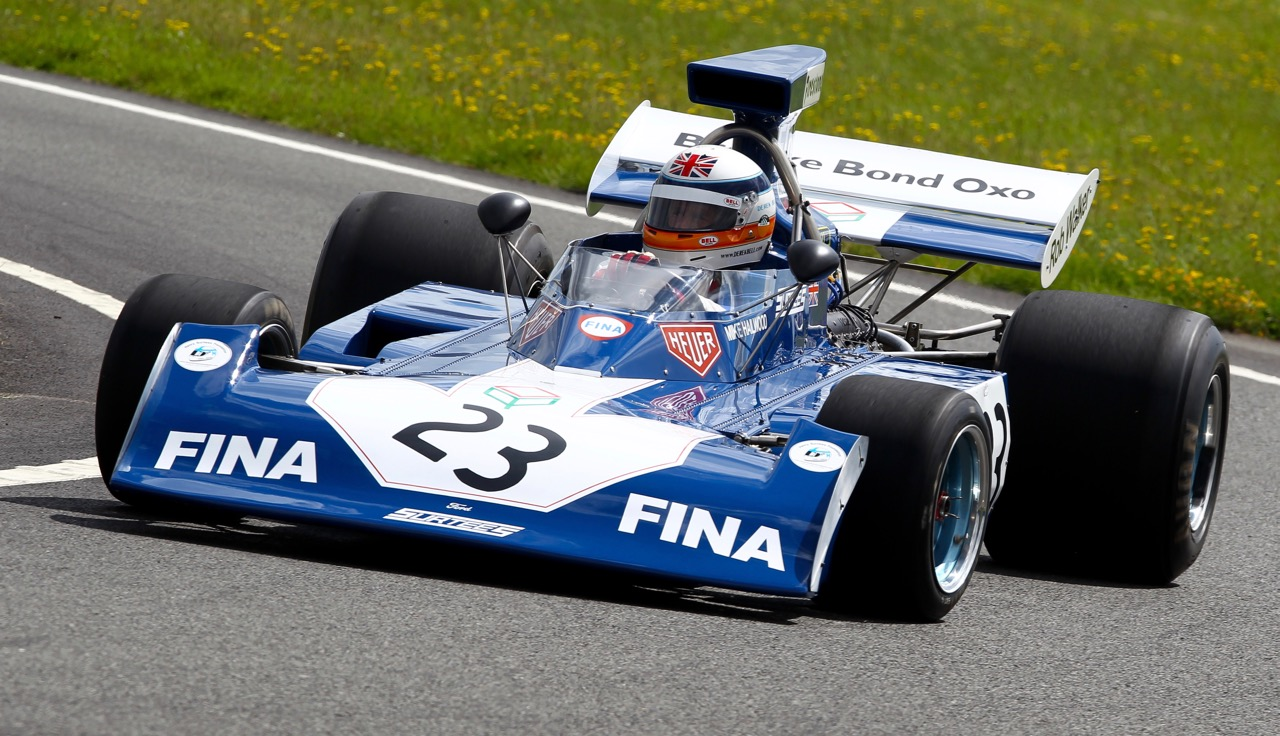 Derek Bell drives the Surtees-Ford TS14 F1 racer