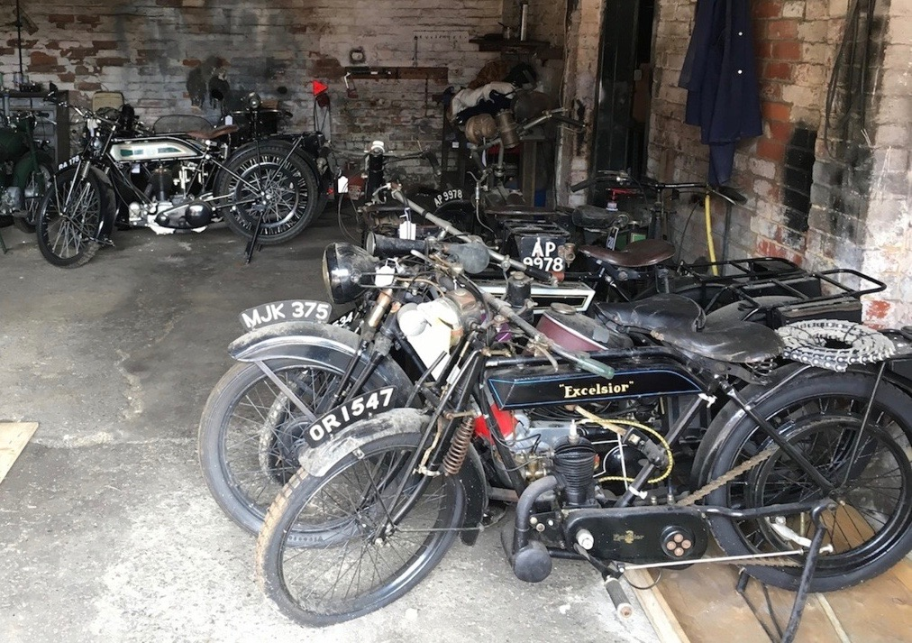 Barn-found bikes from the 1920s