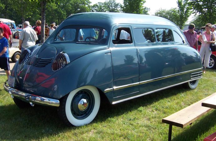 'Hoods in the Rear' is theme for Packard Proving Grounds show