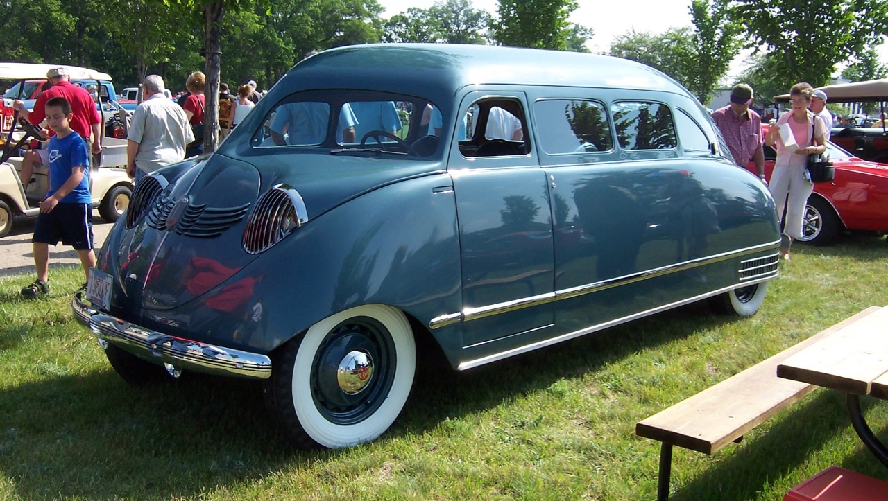 This 1936 Stout Scarab is one of three registered for show at Packard Proving Grounds | Cars R Stars photos