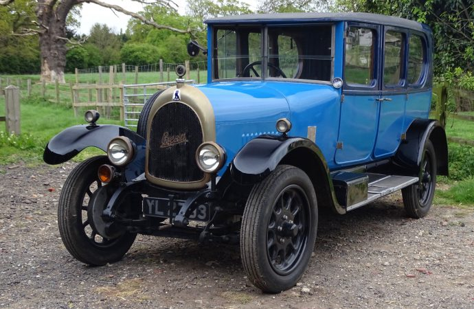 Barn-found collection joins H&H Classics auction docket