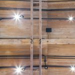 The interior ceiling at Durant-Dort Factory One, in Flint, Michi