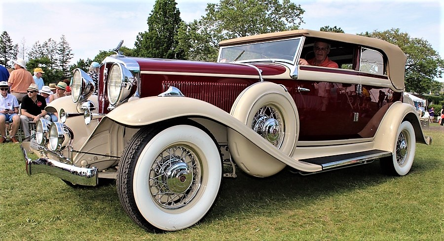 A 1932 Studebaker President won last year's Greenwich Concours best of show | Green Concours