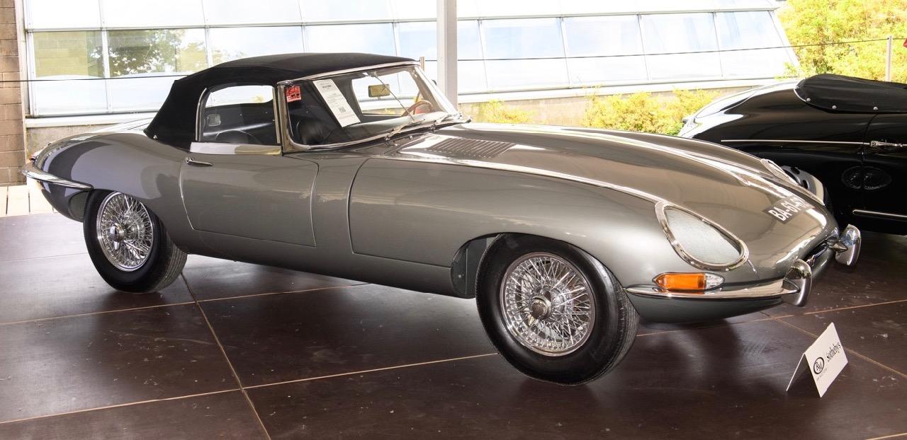 '61 E-type a strong seller