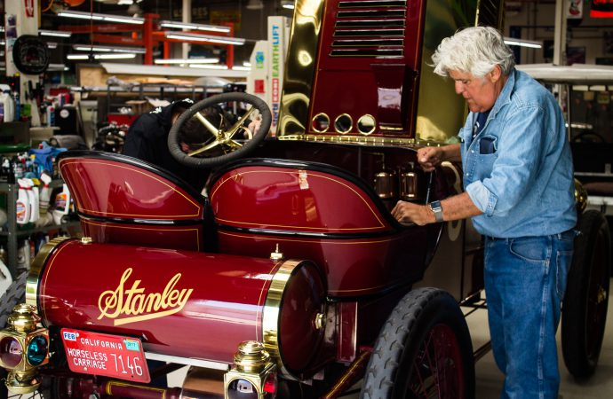 Dream of a lifetime fulfilled: A visit to Jay Leno's garage