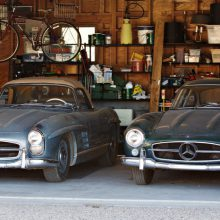 Family-owned since new, pair of 300SLs going to auction