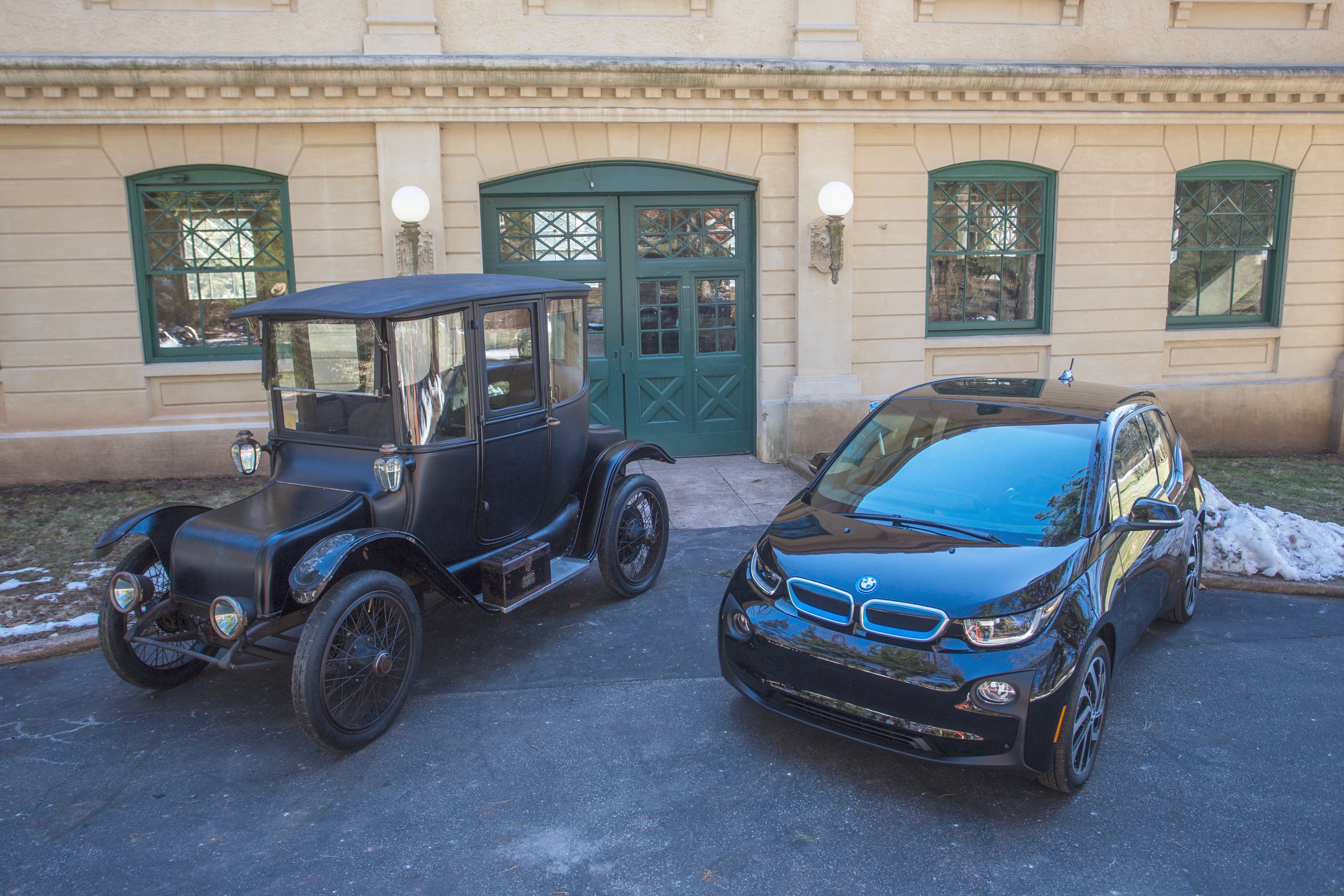 Detroit Electric and i3 at the Edison park | BMW photo