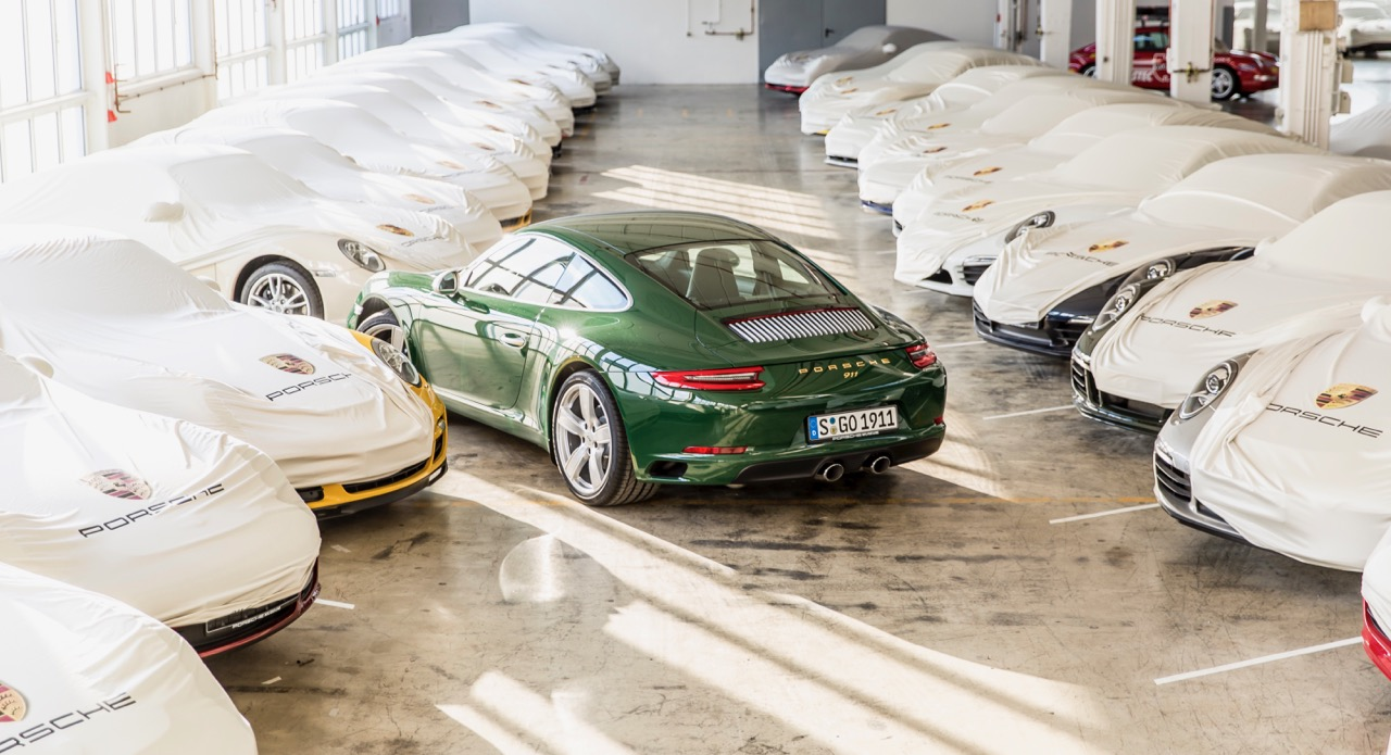 The 1-millionth Porsche 911 | Porsche AG photo