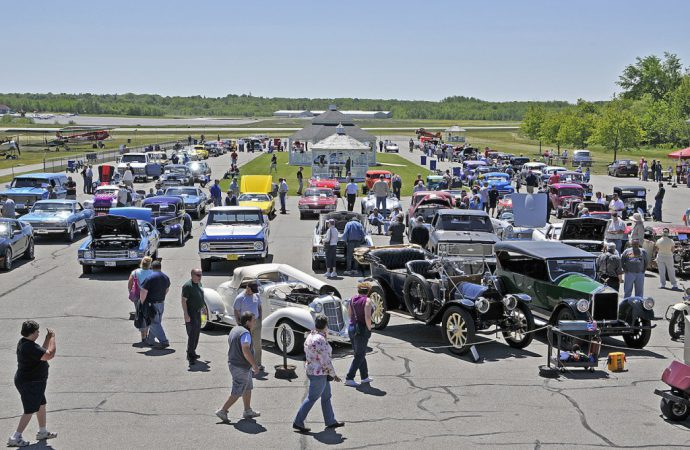 Memorial day weekend at museums and car shows