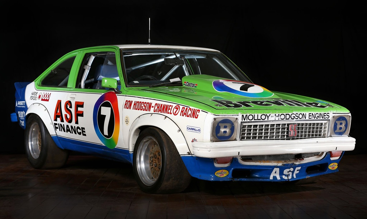 The Torana has been displayed for decades in two Australian museums