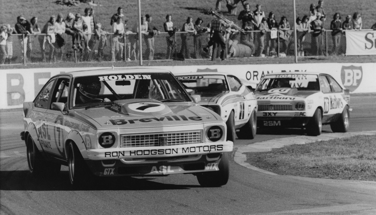 Bob Morris drove the independently owned Holden Torana to the national championship in 1979 | Mossgreen Auctions photos