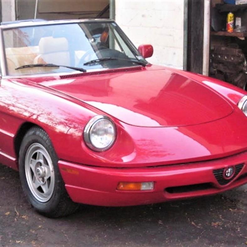 Alfa Romeo Spider Veloce ClassicCarscom Journal - 1991 alfa romeo spider veloce for sale
