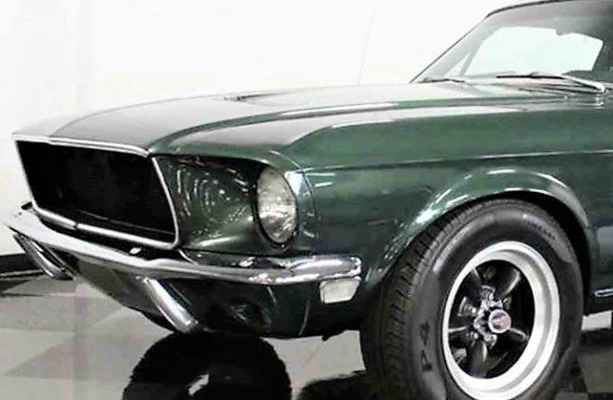 1968 Ford Mustang 'Bullitt' custom
