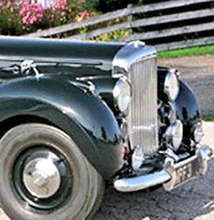 1948 Bentley MKVI coachbuilt coupe