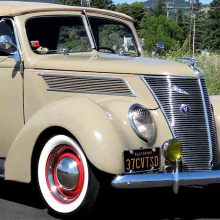 1937 Ford Model 78 Deluxe Convertible Sedan