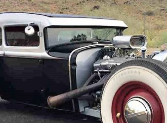 1931 Ford Model A rat rod