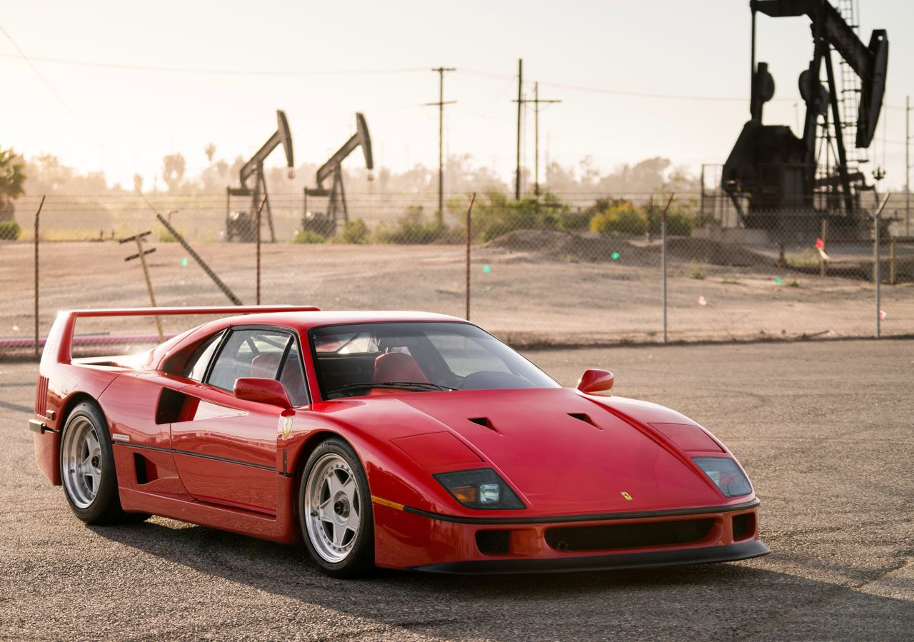 Ferrari F40 headlines Santa Monica sale | RM Sotheby's photos