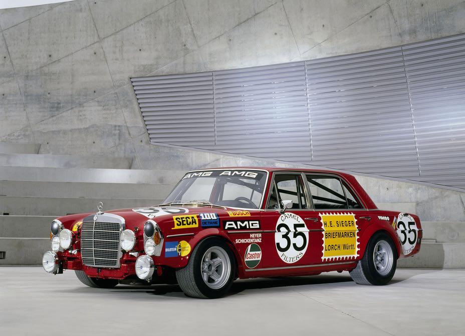 The first AMG race car