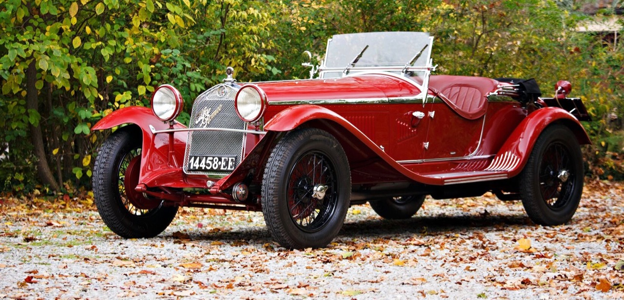 1931 Alfa Romeo 6C 1750 joins docket for Gooding's 2017 Pebble Beach sale