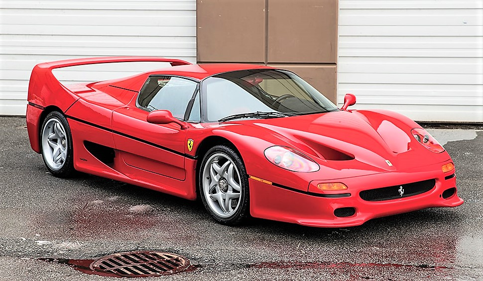 Late-model exotics, like this 1995 Ferrari F50, are strong sellers | Rm Sotheby's