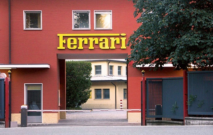 Auction will be held at Ferrari factory