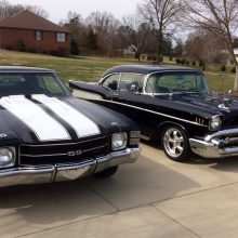 My Classic Cars: Thad's Chevys — '57 Bel Air and '71 SS 454