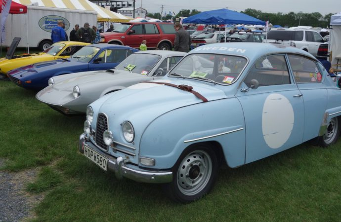 Saab story: Swedish cars prominent at Carlisle Import show