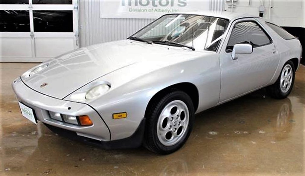 The V8-powered Porsche 928 was the second front-engine car from the automaker
