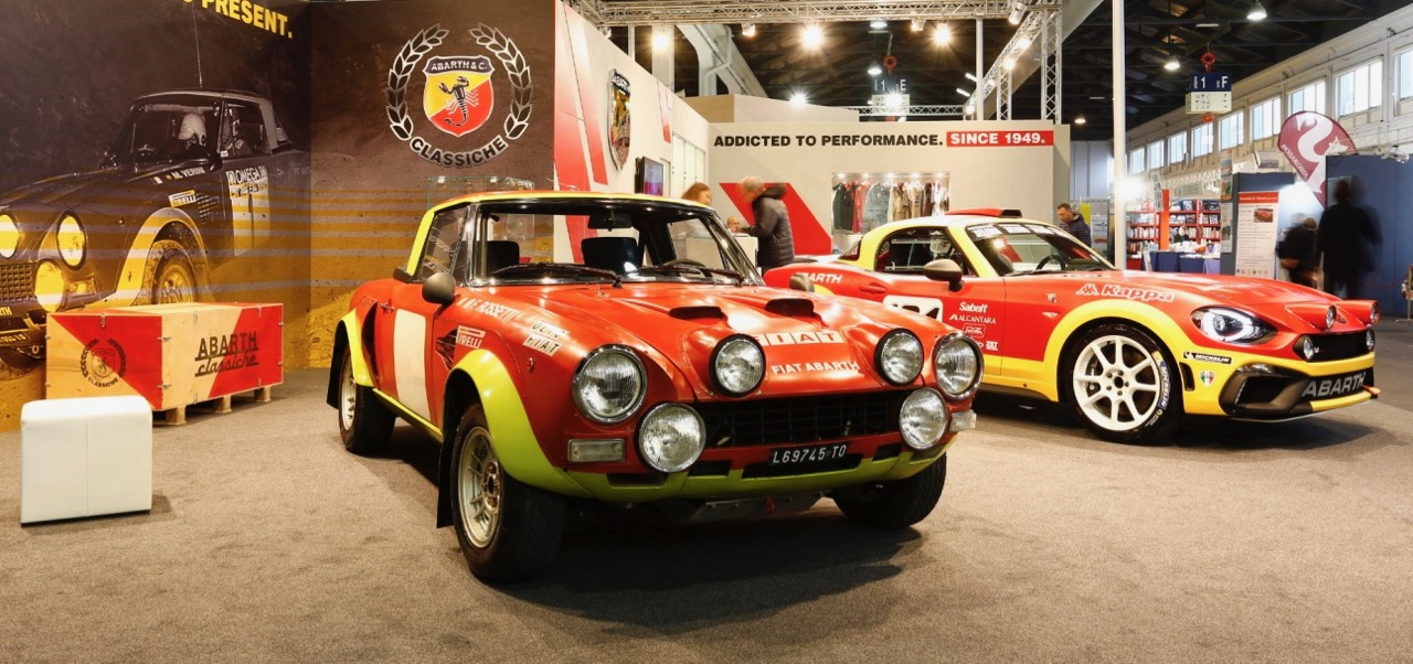Abarth stand in 2016