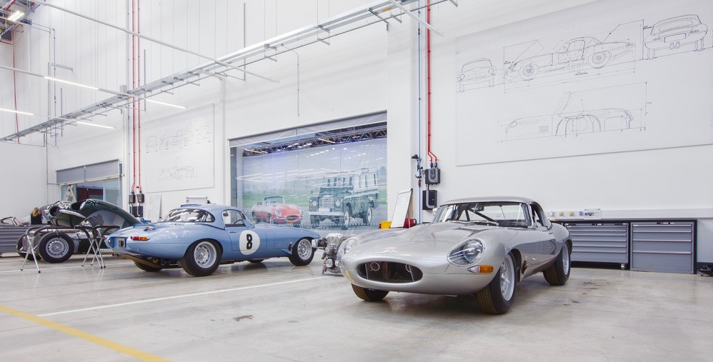 "Classic Works facility does restoration, sales, service and even produces new ""old"" vehicles 
