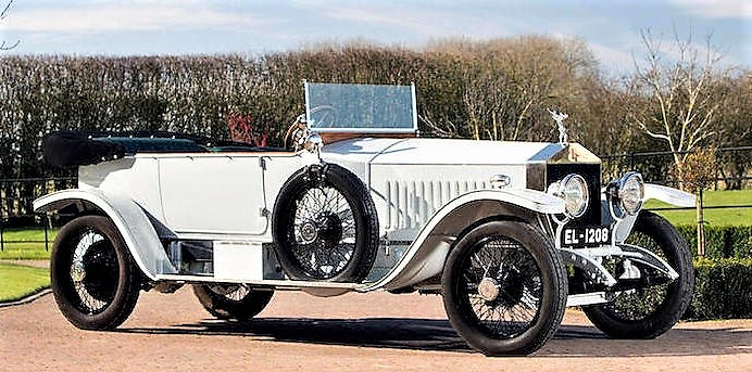 The Rolls was owned by an Indian 'king of kings'