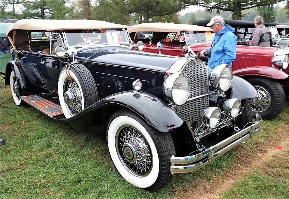 A 1930 Packard at the AACA meet in Hershey, Pennsylvania | Andy Reid