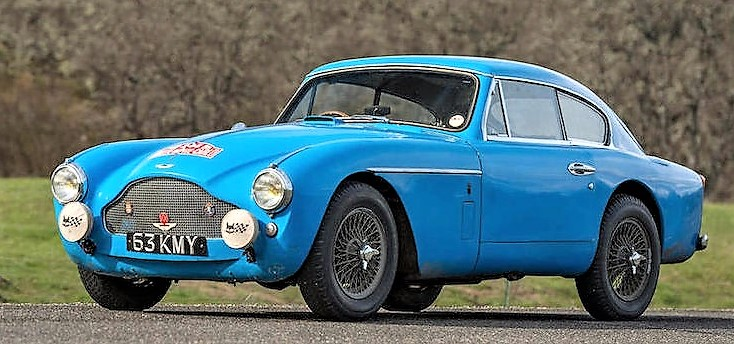 The '57 Aston prototype was raced at Monte Carlo