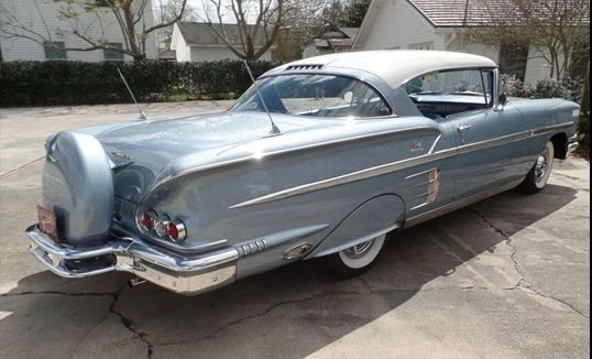 1958 Chevrolet Impala is among featured lots | Vicari Auctions photos