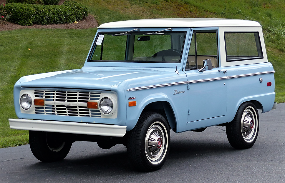 Ford Bronco ascends to top spot in classic car valuation gains ...
