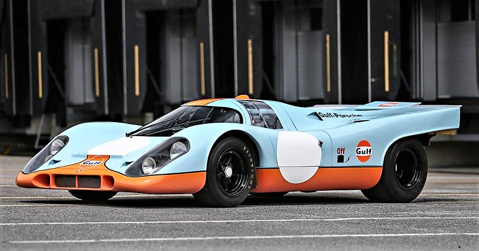 The restored Porsche 917K was once a 'barn find' | Gooding & Company