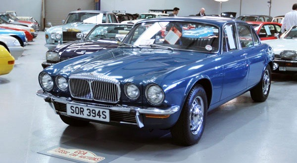 1978 Daimler Sovereign sell for more than $46,000