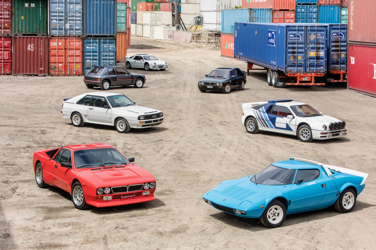 A collection of Group B rally cars from one estate are heading to auction | Bonhams photos