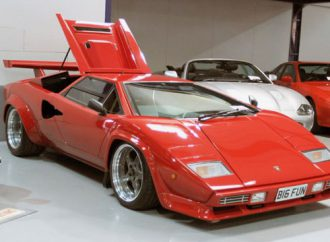 Countach clone draws a high price at British auction