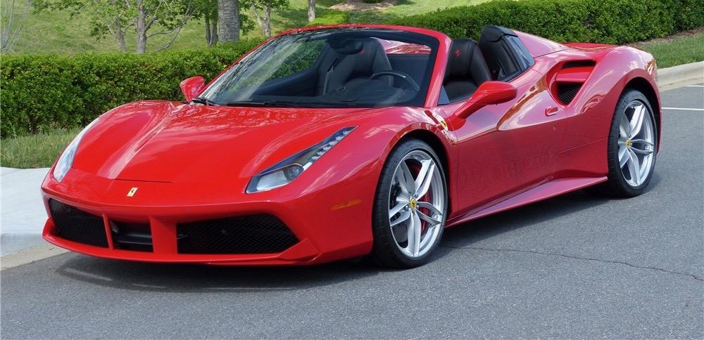 Ferrari is high-dollar seller