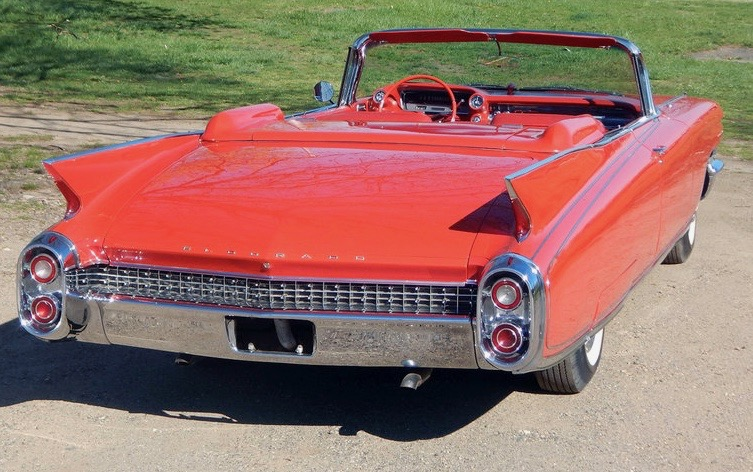 1960 Cadillac convertible sells for six figures