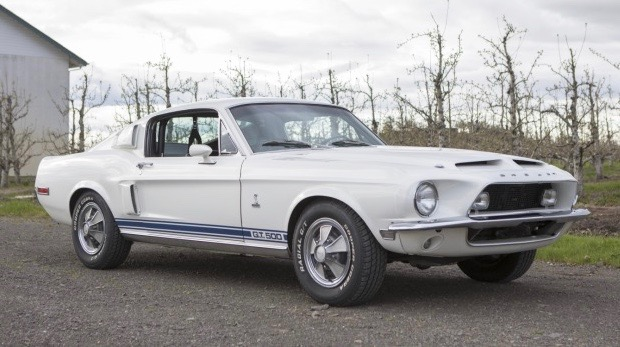 1968 Shelby GT500 was stolen in 1970 but has clear title for Reno auction | MAG photos