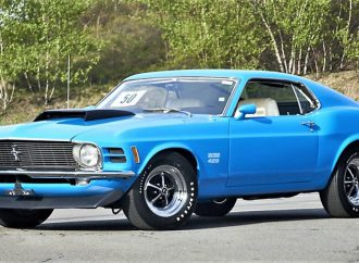 Countdown to Barrett-Jackson Northeast 2017: 1970 Ford Mustang Boss 429 Fastback