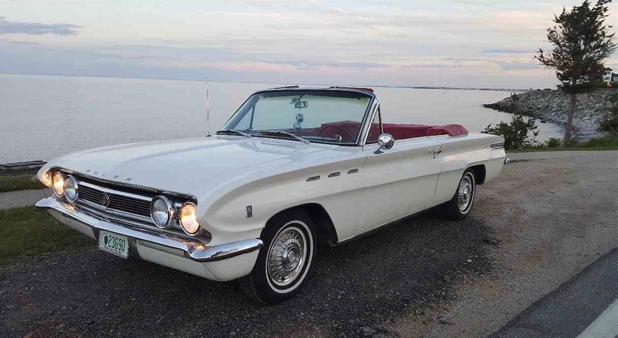 1962 Buick Skylark had V8 power