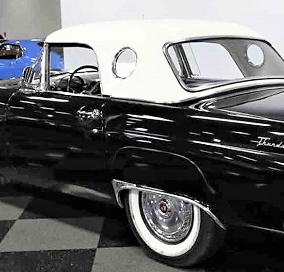1956 Ford Thunderbird Classiccars Journal