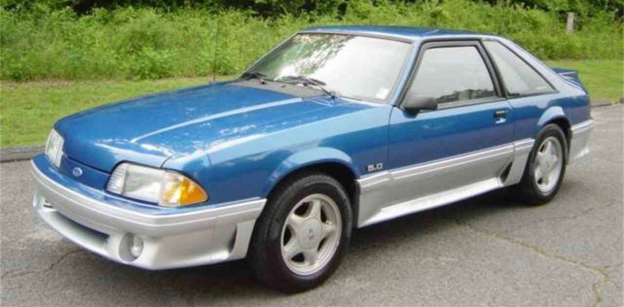 1992 Ford Mustang was popular with the Class of 1992