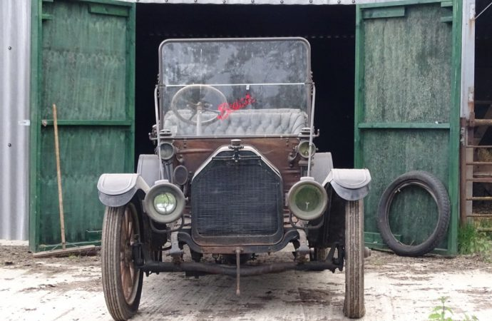 Barn-found vehicles score at H&H sale at motorcycle museum